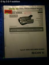Sony Service Manual DCR TRV345E TRV350 TRV351 TRV355E TRV356E Level 1 (#4820)