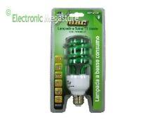 LAMPADINA SPIRAL T3 E27 23W LUCE VERDE - LAMPADA BASSO CONSUMO VERDE GBC