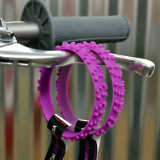 2 MX PURPLE MOTOCROSS KNOBBY DIRT BIKE TIRE WRISTBAND