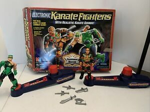 Electronic Karate Fighters Milton Bradley Game Tournament Masters Vintage 1995