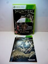 XBOX 360 HUNTED THE DEMONS FORGE MICROSOFT XBOX GAMING GAMERS