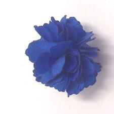 $50 Alfani Men`s Flower Blue Lapel Pin Button Classic Dress Suit Pin Boutonniere