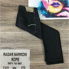 G Star Mens Raw Jeans Denim Radar Narrow Rope Dark Wash Blue Size 35x29