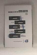 VolvoTrucks Operating Instruction Volvo Radio CD/MP3/USB/ Bluetooth Sound System