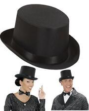 Cappello Cilindro Nero, Accessorio Costume Carnevale PS 20134 Inglese '800