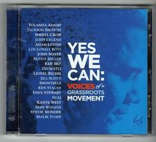 (GX993) Yes We Can: Voices of a Grassroots Movement, 18 tracks - 2008 CD