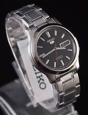 SEIKO 5 SNK795K1 Stainless Steel Band Automatic Men's Black Watch 100% New