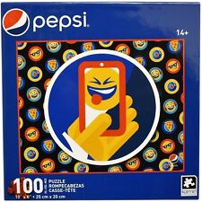 "New PEPSI ""Phone Selfie Emoji"" 10"" x 8"" 100 Pc KARMIN Collectible Jigsaw Puzzle"