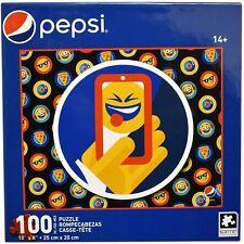 "New PEPSI ""Phone Selfie Emoji"" 10"" x 8"" 100 Pc KARMIN Collectible Jigsaw Puzzle"