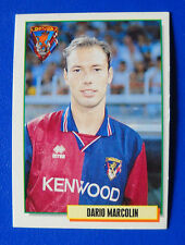 CARD MERLIN CALCIOCARDS '95 - N. 119 - MARCOLIN - GENOA