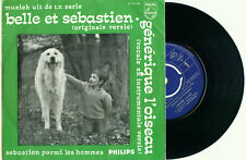 """BELLE et SEBASTIEN L' Oiseau OST/TV '68 (Vocal & Instr.) DUTCH PS NMINT VINYL 7"""""""