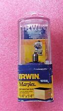 "Irwin 1901038, Marples Solid Carbide Laminate Flush Trimming Bit 1/4"" Shank"