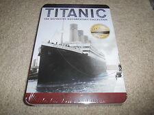 NEW - Titanic - The Definitive Documentary Collection + BONUS - Tin