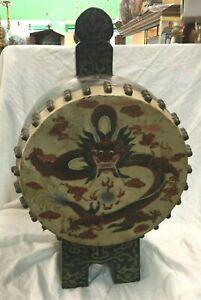 Antique Japanese Drum Taiko