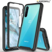 For OnePlus Nord Case Full-Body Rugged Clear Back Hybrid Shockproof Phone Cover