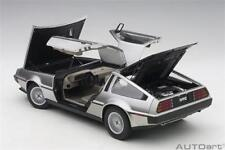 Autoart Delorean Dmc-12 Painted in Satin Finish 1/18 Scale New Release!