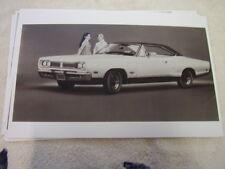 1969 DODGE CORONET 500 HARDTOP  11 X 17  PHOTO  PICTURE