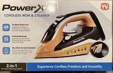 Power XL Cordless Iron & Steamer 2-in-1 Lightweight Ergonomic Design
