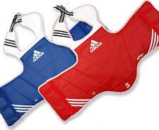 adidas reversible body chest protector/Taekwondo/Karat edo/Size All