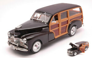 Model Car Scale 1:24 Welly Chevrolet Bel Air Wood vehicles diecast