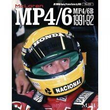 McLaren Mp4/6 Mp 4/6B Photo book F1 Ayrton Senna Honda modeling japan F/S S2923