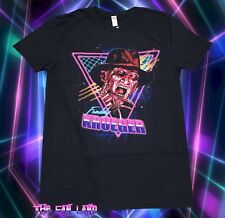 New Nightmare on Elm Street 1984 Neon Freddy Krueger Vintage Men's T-Shirt