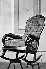 New 5x7 Photo: President Abraham Lincoln's Rocking Chair at Ford's Theatre