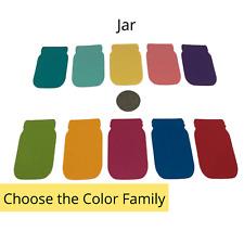Genuine Stampin Up Tool Paper Cardstock Mason Jar Punch Shape Die Cut Gift Tags