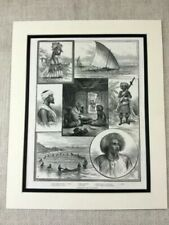 Engraving Paper Ethnic Art Prints