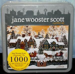 Jane Wooster Scott - A Golden Age - 1000 Pc Puzzle NEW