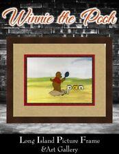 Winnie the Pooh Original Hand Painted Production Cel Newly Custom Framed