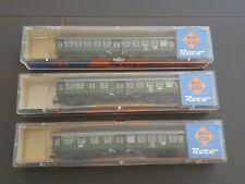 Roco Personenwagen 02253 S, 02254 S und 02255 S Spur N ..3 Stück in OVP