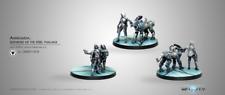 Infinity Corvus Belli Andromeda Sophistes of the Steel Aleph metal new