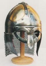 18GA Medieval Viking Mask Helmet Nasal Helmet Replica Halloween Costume Q472