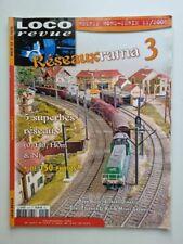 Magazine LOCO REVUE Hors série N°12 11/2008 Réseauxrama 3