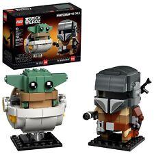 Lego Brickheadz Mandalorian & Child Set 75317 sealed disney+ star wars baby yoda