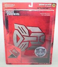 """Transformers Official Menchardise Laptop Skin 15"""" Reusable Removable NEW Red"""