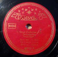 "Helmut Zacharias - Trickaufnahme - Tigerjagd (Tiger Rag) - Polydor /10"" 78 RPM"