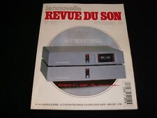 LA NOUVELLE REVUE DU SON<>NOVEMBER 1994<>FRENCH AUDIO MAG.°#182°MICROMEGA
