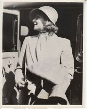 Greta Garbo in candid profile VINTAGE 7x9 Photo