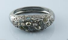 Alexis Bittar Druzy Droplet Gunmetal Large Labradorite & Pyrite Bracelet