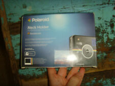 NEw Polaroid neck Holder for Socialmatic Camera chocolate brown  NEW IN BOX