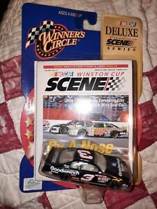 DALE EARNHARDT 2000 GOODWRENCH 1:64 WINNER'S CIRCLE DIECAST CAR WITH CARD