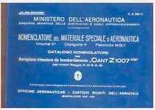 CANT Z 1007 BIS 1941 CA539/1 ALCIONE AIRCRAFT  AERONAUTICA Nomenclatore - DVD