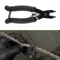 Black Bicycle Bike Cycle Chain Link Quick Master Link Pliers Repair Tool Remover