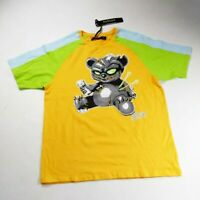 Hudson Outerwear mens Tshirt 100%AUTHENTIC size Large yellow voodoo bear