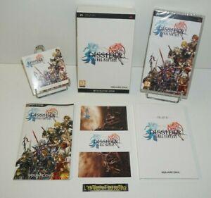 ++ ref 2 / jeu sony PSP FINAL FANTASY DISSIDIA edition collector limitée NEUF ++