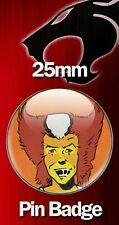 WILYKAT COMIC ART 25mm BADGE Thundercats Character Image