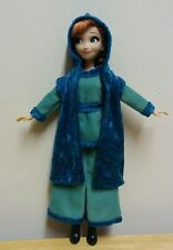 "11"" Doll Clothing Elsa /Anna Aqua Top & Culottes plus Turquoise Hooded Vest"