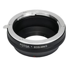 Fotga Canon EOS EF Lens to Micro 4/3 Adapter Ring for Panasonic GM1 GM5 Olympus